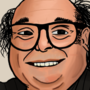 Painting of Danny Devito