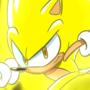 Sonic Jam Inspired Super Sonic Wallpaper
