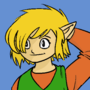 Link as depicted from the 1993 comic (But still a little in my style)