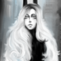 Satan lady digital painting