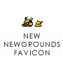 a new NEWGROUNDS favicon