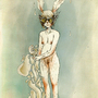 Half a Rabbit by Oelbachtaucher