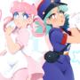 Nurse Joy and Officer Jenny