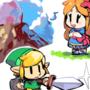 links awakening doodles