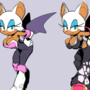 rouge the boobles