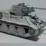 T-34/76 Papercraft