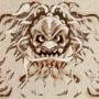Oriental Mask Tattoo by LiLg