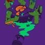 Ugly Mutant Pizza Turtles by KartuneHustla