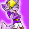 Purple Toon Link Fox