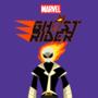 Ghost Rider Cartoon Poster
