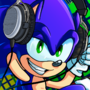 Commission - Audiophile Sonic by AnarchyBeryl