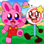 Kirby Bunny and Invincible Lollipop