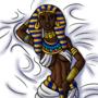Hatshepsut Waifu Pillow Art