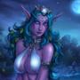 Tyrande's Night Bathing