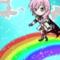Step into the rainbow