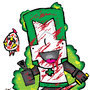 Castle Crasher Green Knight by badgersaur