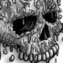 Skull-aroni & Cheese B&W