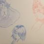 Pin-up Sketch