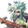 Mermaid #5: the Guitar artist