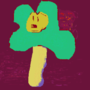 Flower ms paint