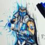 My MK 11 Sub-zero Sketch