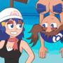 Mermay - Nice Catch! ( Pokemon ) May x Dawn