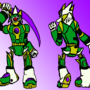 Swordman Character Design Idea by JD14