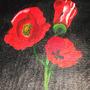 Blood Poppies by Rikimaru-Azlar