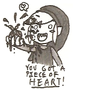 You got a Piece of Heart! by Sakuya-Himura