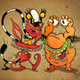 AAAAH! Real Monsters! by DirkErik-Schulz