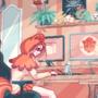 Gamer girl's room