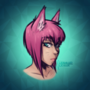 Doodles - Kat portrait