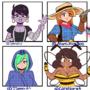 Animate friends OCs