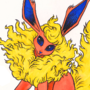 Flareon Eeveelution Pokemon
