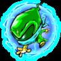 Lil electric green ninja