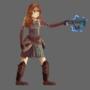Thunder crossbow idle animation
