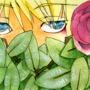 peeking through by Yoshiko13