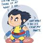 Wolverine by kevinbolk