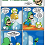 Sucks to be Luigi: 1-UP by kevinbolk