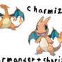 Charmizard Charmander + Charizard