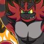 Commission - Roy and Incineroar (Super Smash Bros)