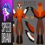SPEED DRAW | B E A K I E Anthro Ref | FDK