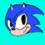 Sonic fanart by V2N4C68S