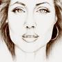 Angelina Jolie by Bryony