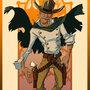 Sunset Gunslinger by kevinbolk