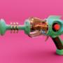 Retro Lasergun