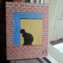 Maya by the window