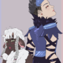 Wooloo and Corviknight