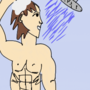 Sexy Anime Guy In Shower