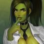She-Hulk office girl!